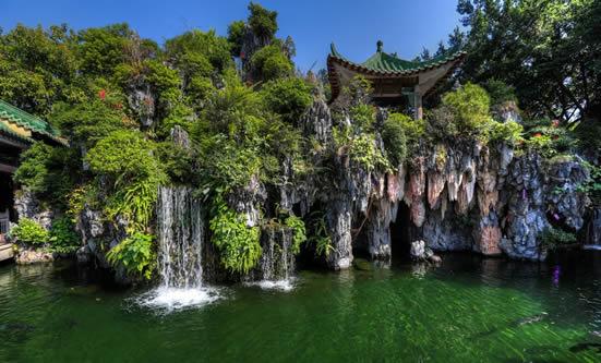 7月份旅游去哪里好 广州宝墨园好玩吗