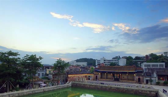 广州历史悠久的岭南文化古镇沙湾一日游