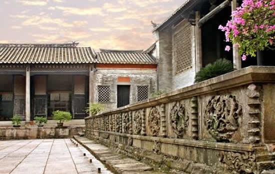 广州一日游到沙湾古镇欣赏明、清古建筑