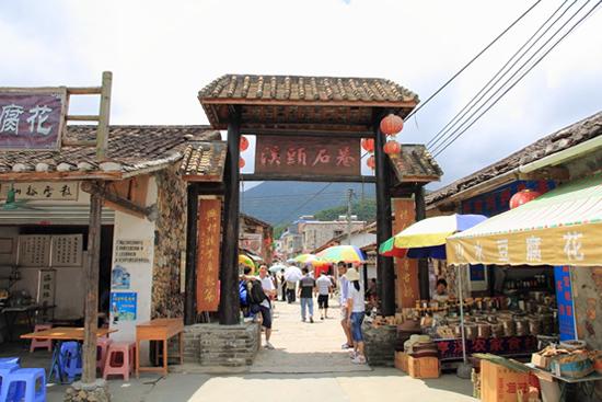 七月广州一日游到溪头村过乡村生活