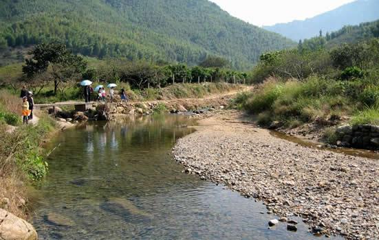 广州从化450年历史的溪头村一日游