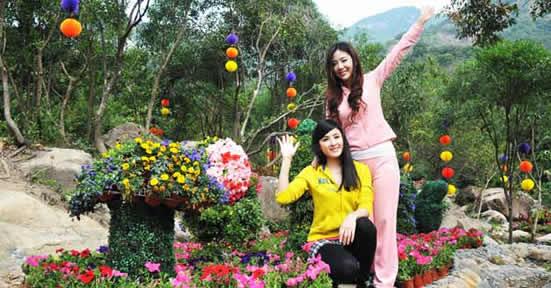 广州原生态风景区增城白水寨一日游