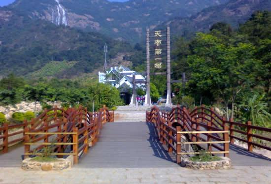 广州一日游到增城白水寨登山赏花
