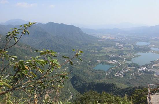 广州一日游到白水寨欣赏白水仙瀑布