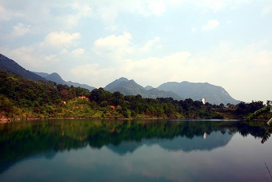 广州一日到增城白水寨享低碳健康生活