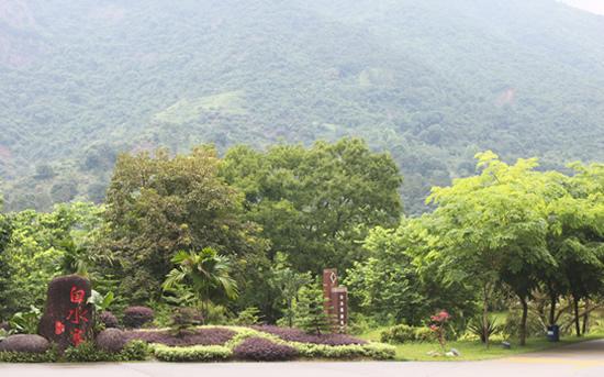 广州一日游到增城白水寨寻找奇趣水谷