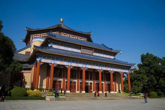八月广州中山纪念堂一日游攻略