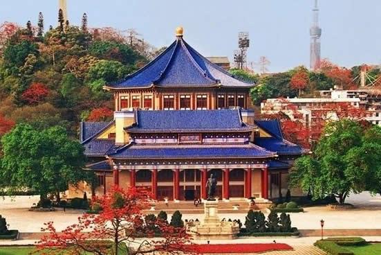 广州一日游到纪念堂探讨孙中山像的故事