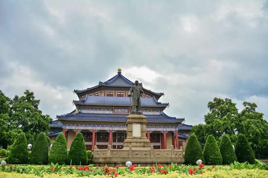 广州一日游到纪念堂访寻孙中山的革命精神