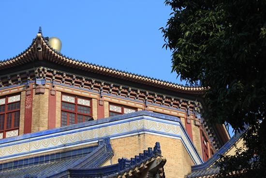 广州中山纪念堂:当时亚洲最大会堂式建筑
