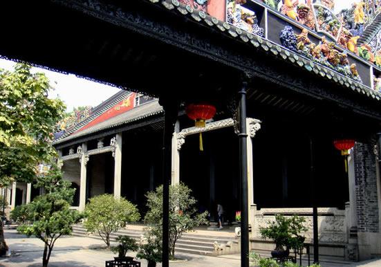广州一日游到陈家祠研究岭南建筑艺术