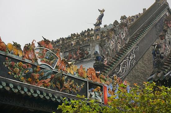 广州一日游到陈家祠探讨砖雕建筑艺术