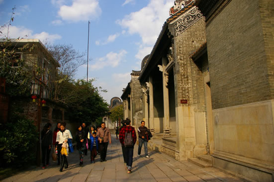 黄埔古港:中国国际贸易的重要基地