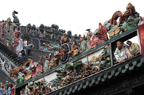 广州一日游到陈家祠探秘木雕神楼