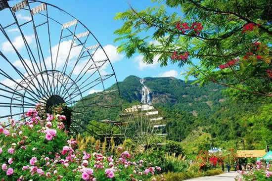 广州一日游到增城白水寨观赏瀑布