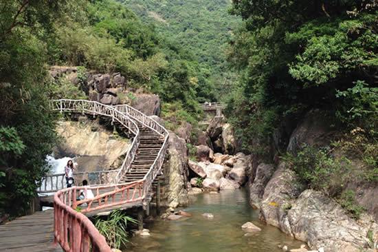 广州增城白水寨中国最美单车道一日游