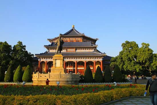 中山纪念堂:广州最具标致性的建筑物