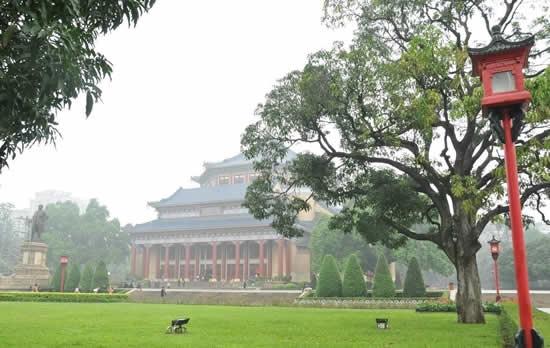 广州标志性建筑中山纪念堂建筑特点揭秘