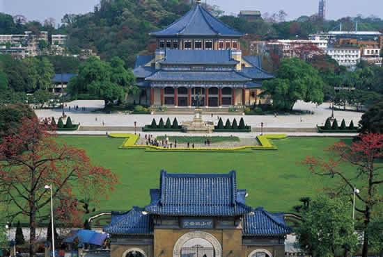 广州中山纪念堂:串起旧中轴线标志性建筑