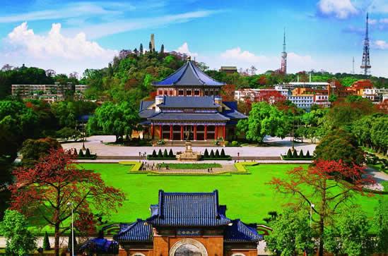 广州一日游景点中山纪念堂建筑看点