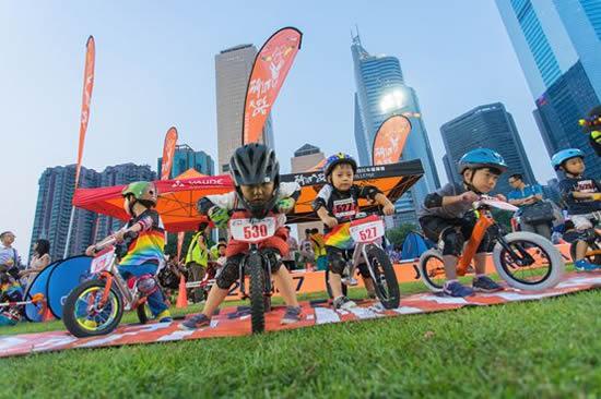 2017年首届广州儿童平衡车大赛拉开序幕