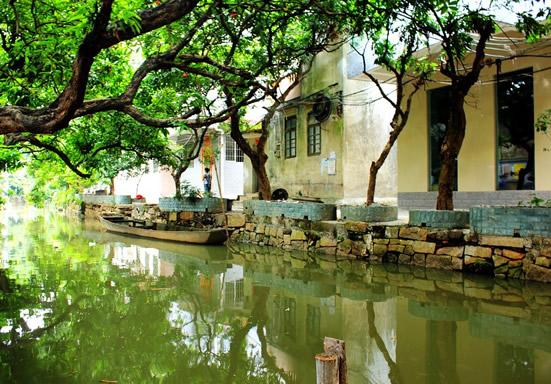 小洲村:广州岭南水乡最后小桥流水人家