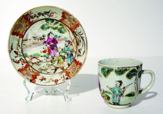 广州彩瓷——海上丝绸之路的中国名片