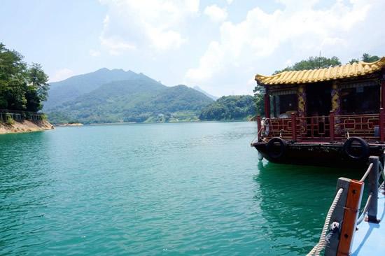 广州一日游到增城白水寨吃农家菜