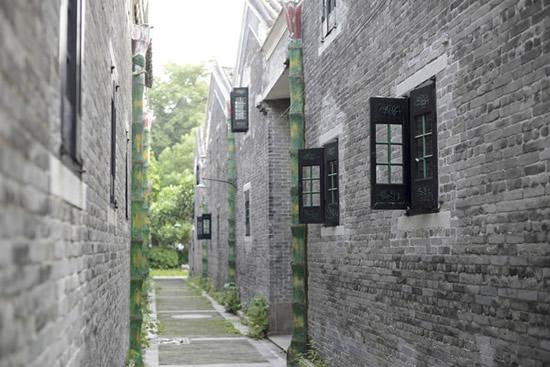 广州一日游到聚龙村访寻百年青砖大屋