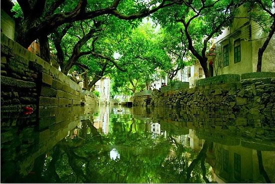 广州一日游到小洲村访寻蚝壳屋