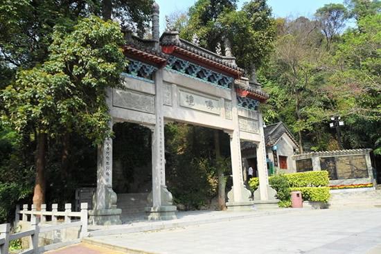 广州的图腾白云山风景区一日游攻略