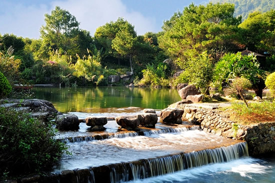 广州一日游到增城白水寨呼吸负离子
