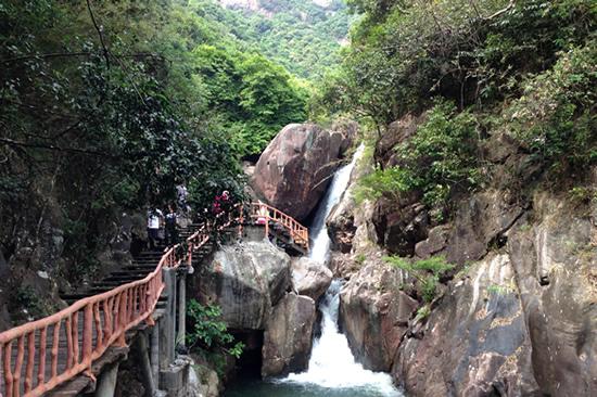 国庆长假到广州增城白水寨郊游