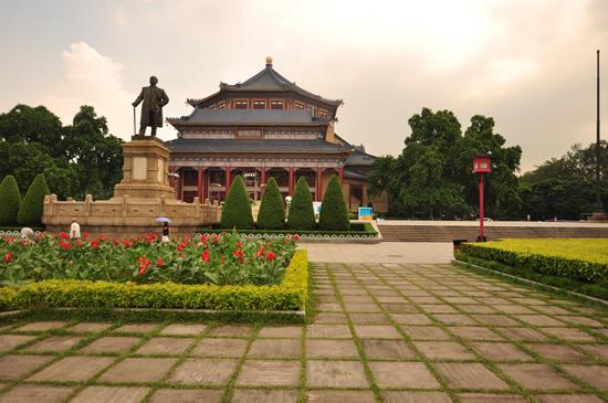 广州一日游到中山纪念堂研究南方建筑特色