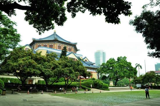 广州中山纪念堂的建筑看点研究