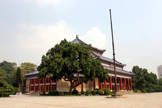 广州中山纪念堂建筑图纸的故事揭秘