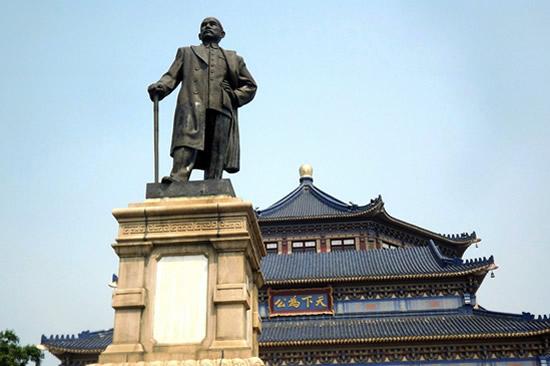 建筑华表广州中山纪念堂一日游攻略