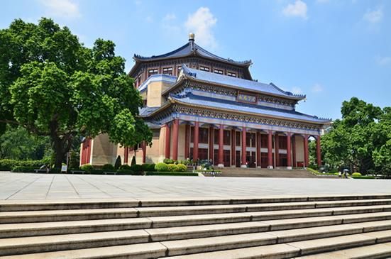广州中山纪念堂巧夺天工的建筑设计探秘