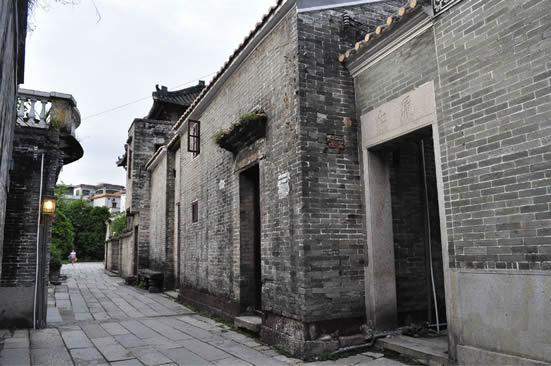 清政府闭关自守时期的广州黄埔古港