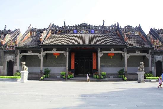 广州一日游到陈家祠寻找瑞兽