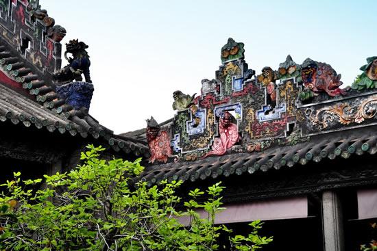 广州陈家祠文化瑰宝砖雕艺术