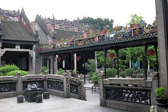 广州陈家祠与陈氏书院的由来