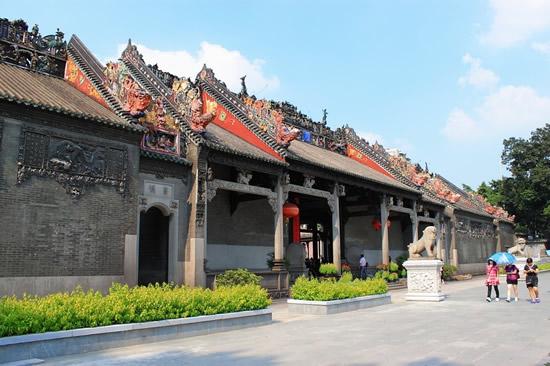 国庆一日游到广州陈家祠研究木雕艺术