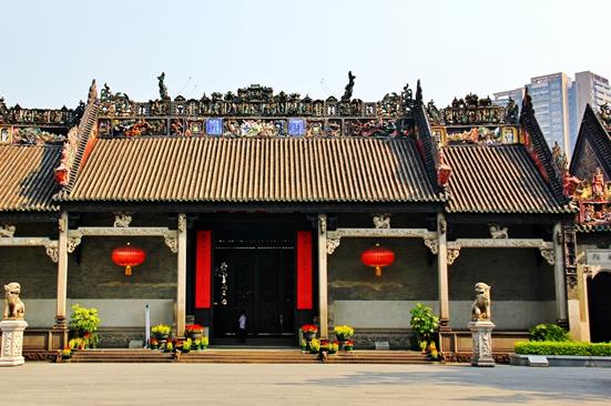 广州陈家祠的木雕建筑艺术探秘