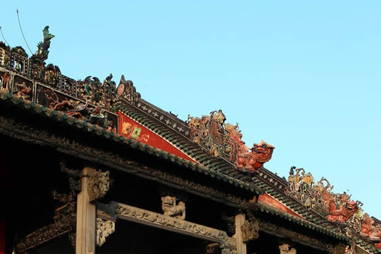 广州陈家祠木雕屏风的故事探秘