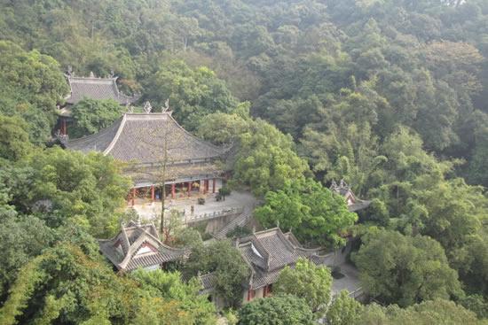 广州白云山风景区虎跑泉探秘