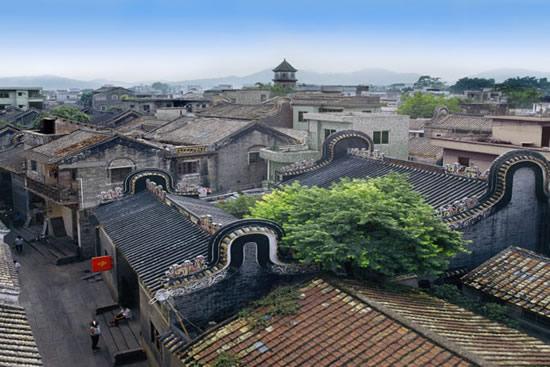 广州番禺沙湾古镇的民俗文化