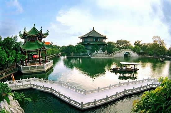 广州宝墨园历史遗存的海丝文化