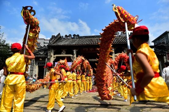 2017年第五届岭南祠堂文化节在黄埔古村开幕