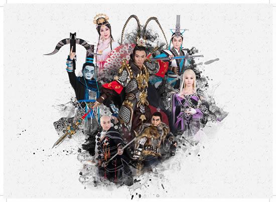 广州广东粤剧院推出粤剧《决战天策府》